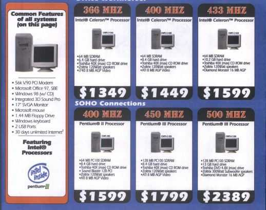 Personal computer price in Canada in 1999