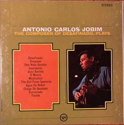 Antonio Carlos Jobim - The Composer Of Desafinado, Plays (1963 24/96 FLAC)