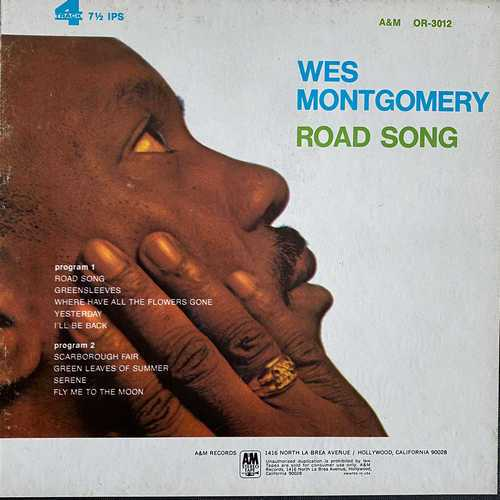 Wes Montgomery - Road Song (1968 2496 FLAC)