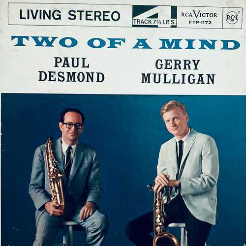 Paul Desmond & Gerry Mulligan - Two Of A Mind (1962 2496 FLAC)