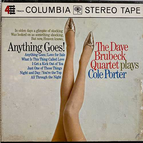 Dave Brubeck Quartet - Anything Goes! The Dave Brubeck Quartet Plays Cole Porter (1967 24/96 FLAC)