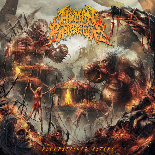 Human Barbecue - Bloodstained Altars (2020 24/44 FLAC)