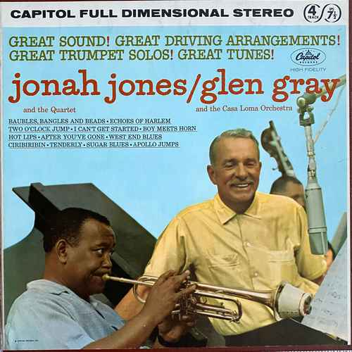 Jonah Jones Quartet, Glen Gray Casa Loma Orchestra - Jonah Jones Quartet, Glen Gray Casa Loma Orchestra (1962 24/96 FLAC)