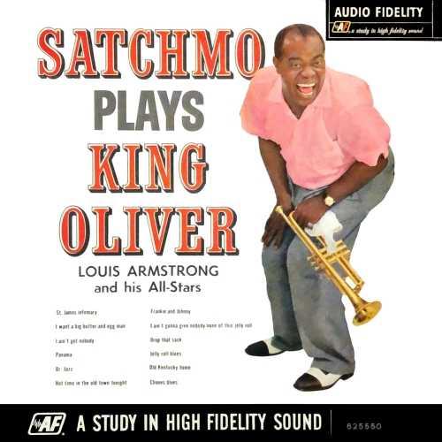 Louis Armstrong - Satchmo Plays King Oliver. Remastered (2019 24/96 FLAC)