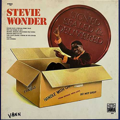 Stevie Wonder - Signed Sealed, Delivered (1970 24/96 FLAC)