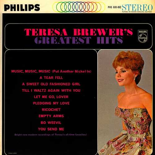 Teresa Brewer - Teresa Brewer's Greatest Hits (1962 24/192 FLAC)