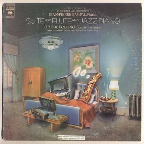 Jean-Pierre Rampal, Claude Bolling - Suite For Flute And Jazz Piano (1975 24/192 FLAC)