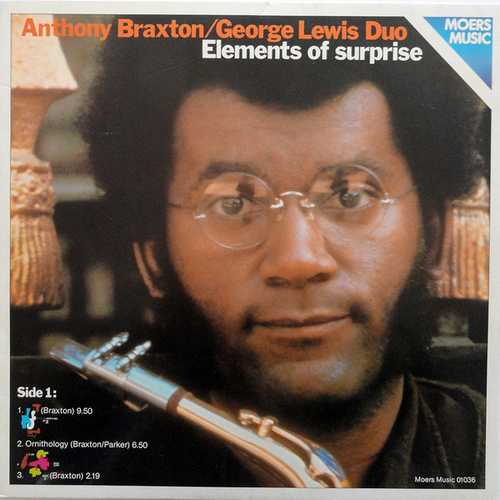 Anthony Braxton, George Lewis Duo - Elements Of Surprise (1978 FLAC)