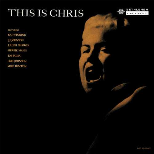 Chris Connor - This Is Chris. Remastered (2014 24/96 FLAC)